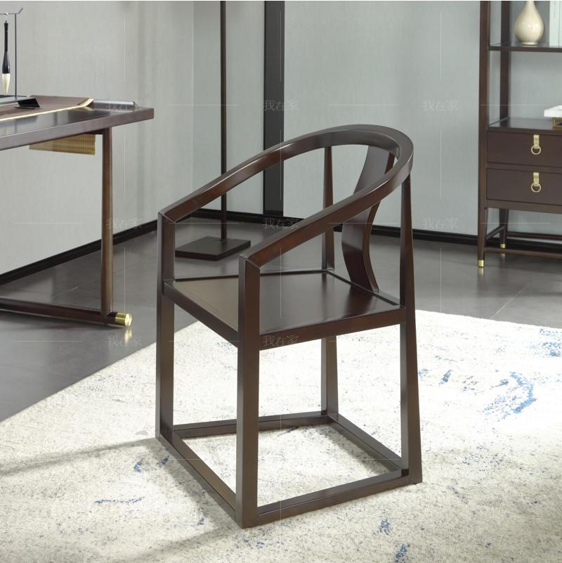 新中式风格疏影茶椅